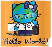 """Hello World!"" Poster"