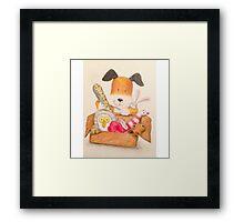 Childrens Classic kipper the dog Framed Print