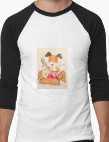 Childrens Classic kipper the dog Men's Baseball ¾ T-Shirt