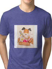 Childrens Classic kipper the dog Tri-blend T-Shirt