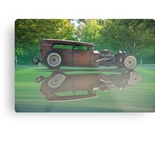 Rat Rat Rod Rod 3 Metal Print