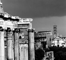 the Roman Forum in Rome by iristudiophoto