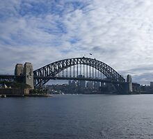 harbour bridge by simonsinclair