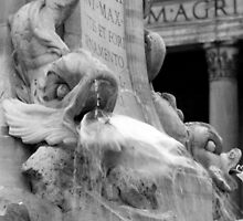 Rotonda Fountain in Rome by iristudiophoto