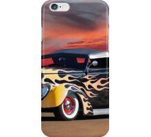1937 Ford Custom Pickup iPhone Case/Skin
