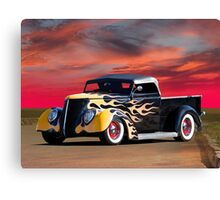 1937 Ford Custom Pickup Canvas Print
