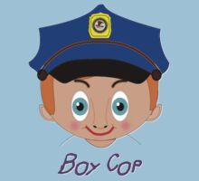Toon Boy 13 Boy CopT-shirt design Kids Tee