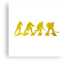 smart crossing (hockey road golden) Canvas Print