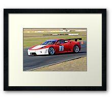 Ferarri F450 Framed Print