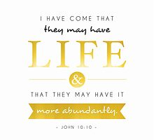 Life...more abundantly by Jeri Stunkard