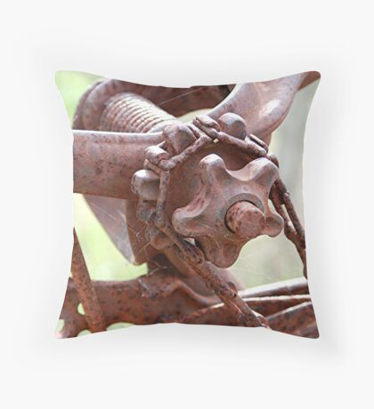Yesteryears Engineering - Lyndoch - South Australia Throw Pillow