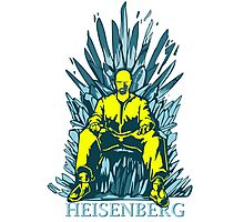 funny Walter of throne  Photographic Print