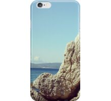 Rock at the sea iPhone Case/Skin