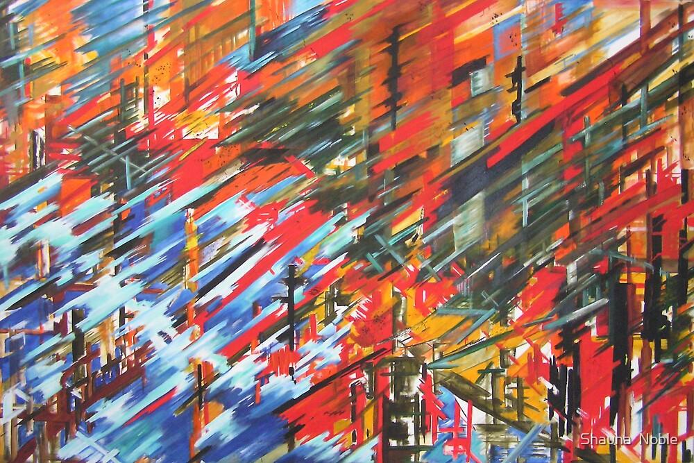 COASTAL FOLLIES oil on canvas by Shauna  Noble