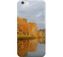 Glide on the Creek iPhone Case/Skin