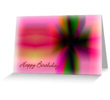 Gift ribbon birthday card Greeting Card