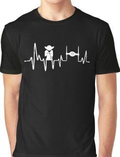 Yoda Heartbeat - Pulse Graphic T-Shirt