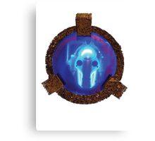 Cyberman in Deep Freeze Canvas Print
