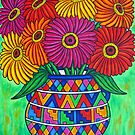 Zinnia Fiesta by LisaLorenz