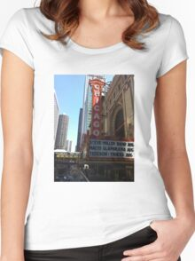 Chicago and all that Jazz. Women's Fitted Scoop T-Shirt