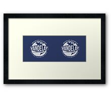 Seinfeld Vandelay Industries Framed Print