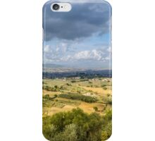 Umbrian Landscape iPhone Case/Skin