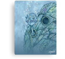 Willy Whisk Canvas Print
