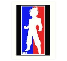 Goku Sport Logo Art Print