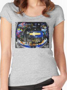 Honda Civic JDM graffiti t-shirt Women's Fitted Scoop T-Shirt