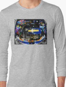 Honda Civic JDM graffiti t-shirt Long Sleeve T-Shirt