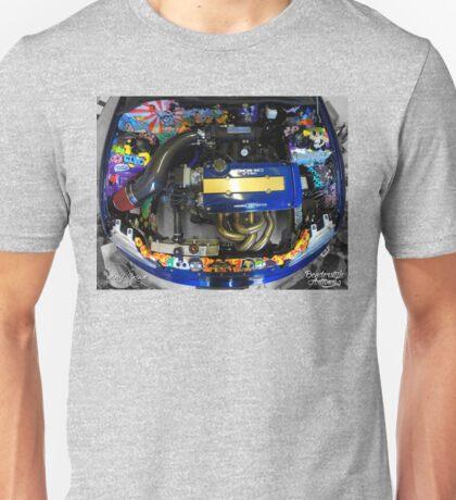 Honda Civic JDM graffiti t-shirt Unisex T-Shirt