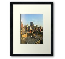 42nd and 10th Framed Print
