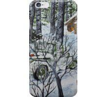 Deer Camp 141114 iPhone Case/Skin