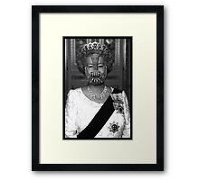 Queen Bane Framed Print