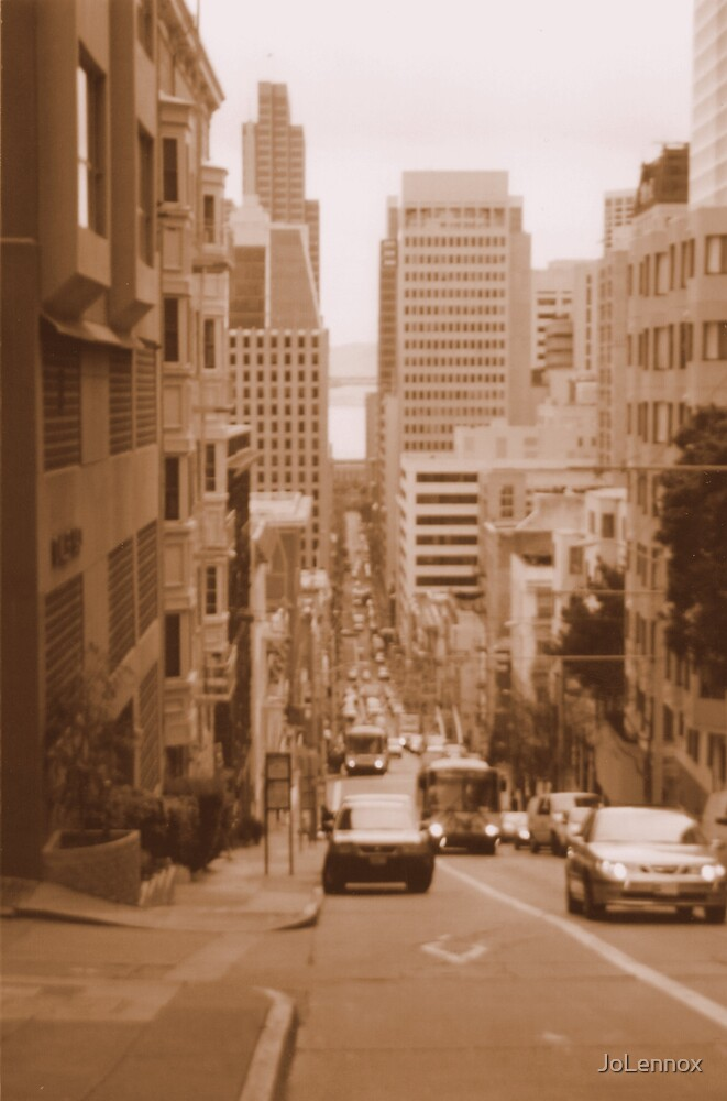The Streets Of Sanfrancisco by JoLennox