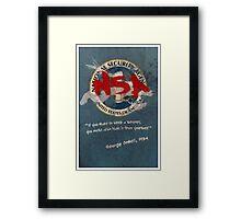 NSA Orwell Framed Print