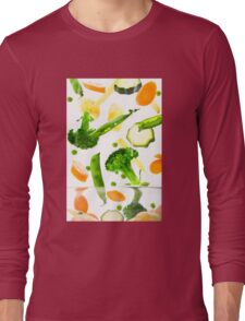 Healthy Vegetables Long Sleeve T-Shirt