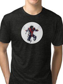 Splatter Paint Classic Nightcrawler Tri-blend T-Shirt