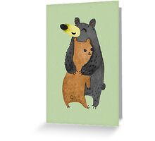 Bearhug! Greeting Card