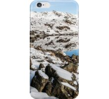 Stickle Tarn Winters Scene iPhone Case/Skin