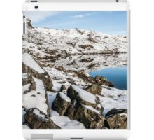 Stickle Tarn Winters Scene iPad Case/Skin
