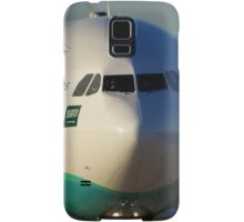 Flynas A330 at Manchester Airport Samsung Galaxy Case/Skin