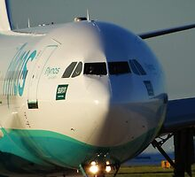Flynas A330 at Manchester Airport by PlaneMad1997