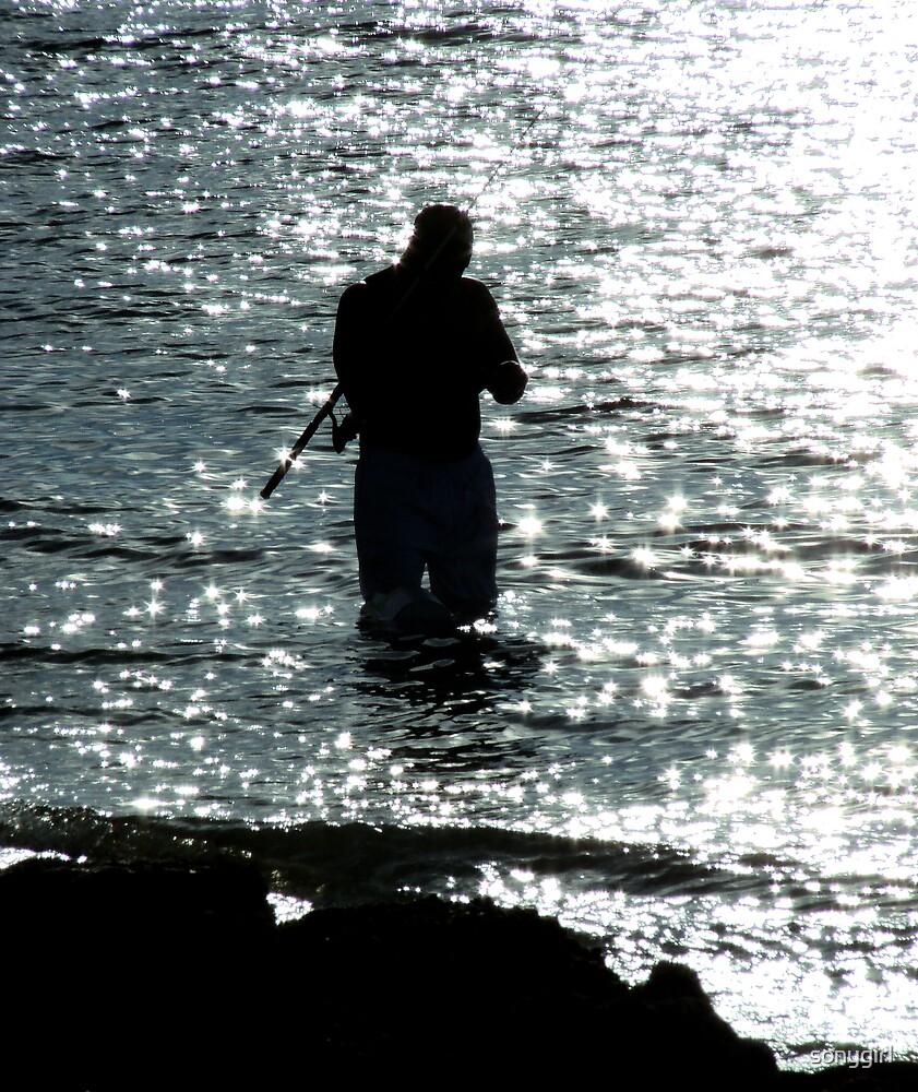 moonlight fishing by sonygirl