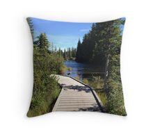 Southern Alberta Beauty Throw Pillow