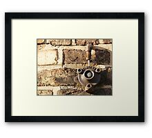 Decay: tangent Framed Print