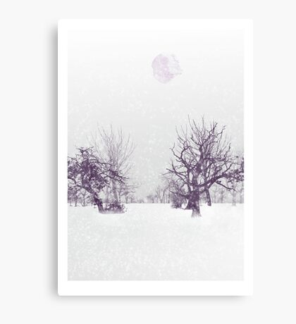 Subtle Seasons greetings Canvas Print
