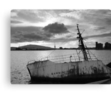 Decay: wreckage Canvas Print