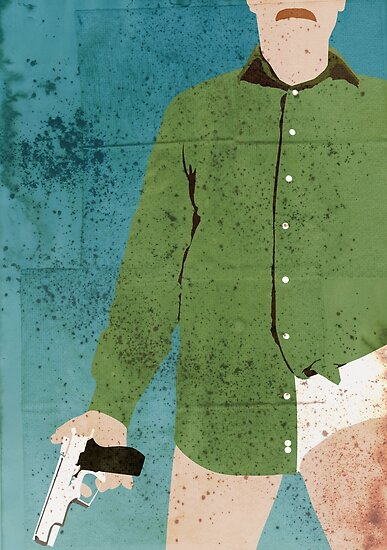 Walter White (distressed) by SixPixeldesign