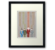 The News Team Framed Print